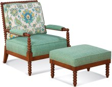 Lind Island Lounge Chair and Ottoman
