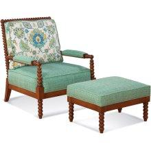 Lind Island Lounge Chair and Ottoman
