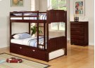 Twin/Twin Raised Panel Bunkbed Product Image