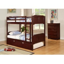Twin/Twin Raised Panel Bunkbed