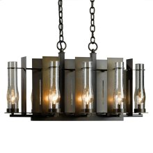 New Town Small 8 Arm Chandelier
