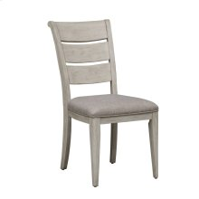 Ladder Back Uph Side Chair (RTA)