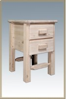 Homestead Nightstand with 2 Drawers Product Image