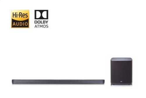 5.1.2 ch High Resolution Audio Sound Bar with Dolby Atmos