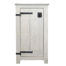Americana Cabinet in Whitewash