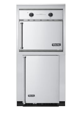 """32"""" W x 30"""" D Refrigeration and Smoker Oven Tower"""