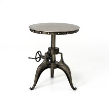 """Crank 22"""" End Table"""