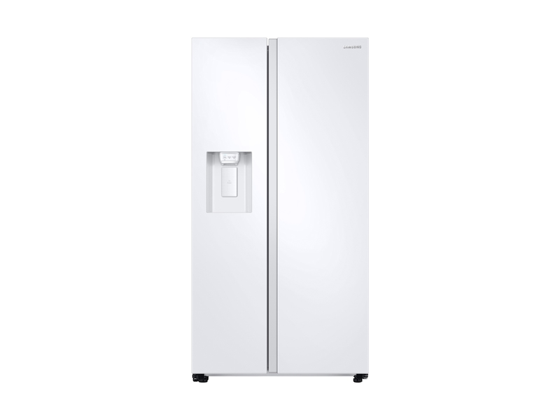 Samsung27.4 Cu. Ft. Large Capacity Side-By-Side Refrigerator In White