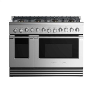 "Fisher & PaykelGas Range 48"", 8 Burners"