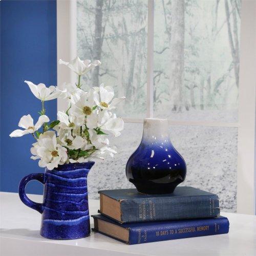 Blue/white Ombre Vase