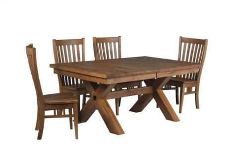 "42/68-2-12"" X-Base#2 Trestle Table"
