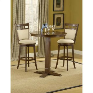 Hillsdale FurnitureDynamic Designs 3pc Pub Set W/ Jefferson Stools