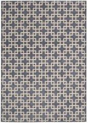 HOLLYWOOD SHIMMER KI101 STEEL RECTANGLE RUG 3'9'' x 5'9''