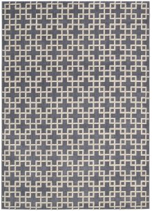 Hollywood Shimmer Ki101 Steel Rectangle Rug 3'9'' X 5'9''