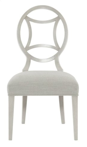 Criteria Side Chair in Criteria Heather Gray (363)