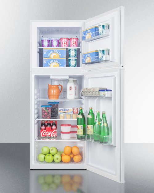 11.5 CU.FT. Frost-free Refrigerator-freezer In White Finish; Replaces Ff1374w