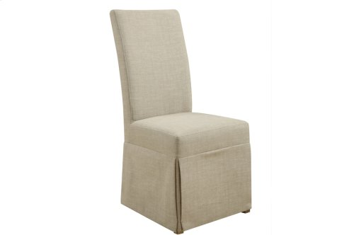 Parsons Chair Set Up Solid Fabric