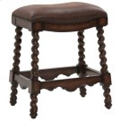 Coventry Counter Stool - Dark Leather Product Image