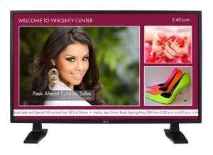 "42"" class (41.92"" diagonal) IPS Direct LED Full HD Capable Monitor"