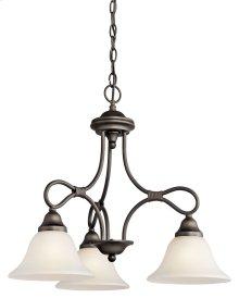 Stafford 3 Light Chandelier Olde Bronze®