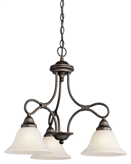 Stafford 3 Light Chandelier Olde Bronze®