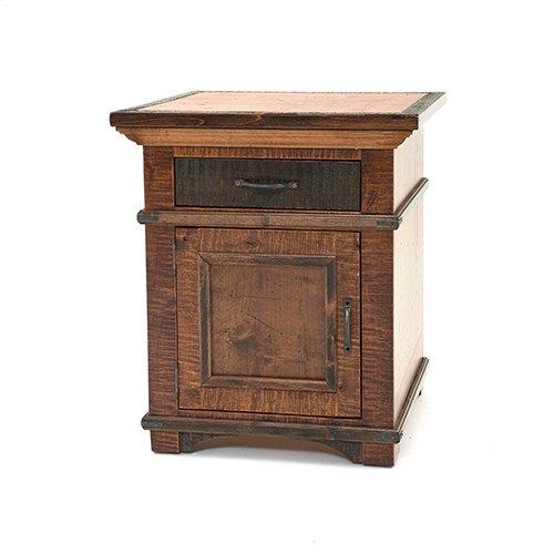 Glen Falls - 1 Door 1 Drawer Nightstand
