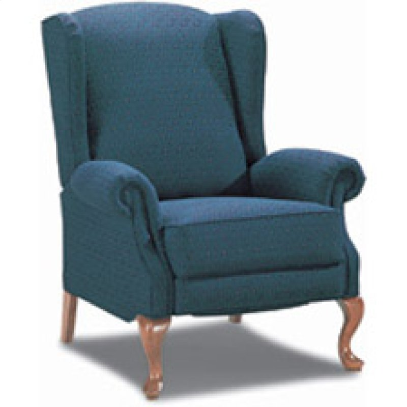 recliner wing p doris chair queen back anne