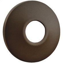 """Oil Rubbed Bronze Escutcheon 1/2"""" IPS Low Pattern 2-1/2"""" OD"""