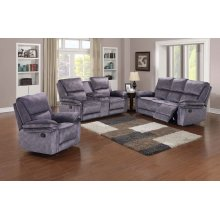 Clark Reclining Sofa, Console Love, Chair, M6927