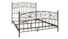 Metal Bed In Dark Bronze Finish