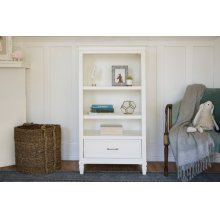 Warm White Darlington Bookcase