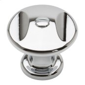 Ergo Knob 1 3/8 Inch - Polished Chrome