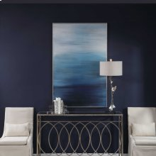Moonlit Sea Hand Painted Canvas
