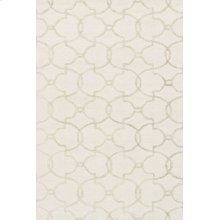 Ivory / Silver Rug