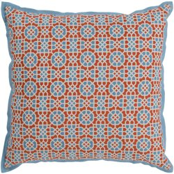 "Francesco FNC-006 18"" x 18"" Pillow Shell with Polyester Insert"