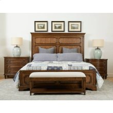 Hillside Panel Bed - Chestnut / Queen