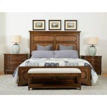 Hillside Panel Bed - Chestnut / Queen