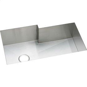 """Elkay Crosstown 16 Gauge Stainless Steel, 34-1/2"""" x 20-1/2"""" x 10"""" Single Bowl Undermount Sink"""