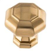 Elizabeth Knob 1 1/4 inch - Warm Brass