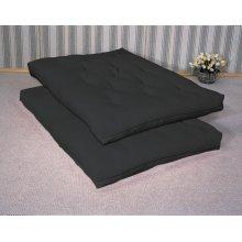Black Deluxe Futon Pad