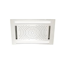 "Cura 24"" x 18"" recessed rainhead"