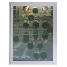 GE Monogram® Black Wine Chiller with 7 Full-Width Shelves and Adjustable Temperature-Control
