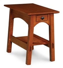 McCoy 1-Drawer Chair Side Table