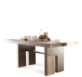 Terra Vista Table Base 76 lbs Casual Walnut finish