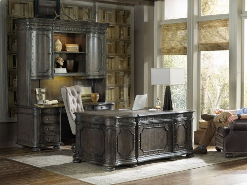 Vintage West Executive Desk