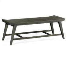 Rectangular Grey Bench