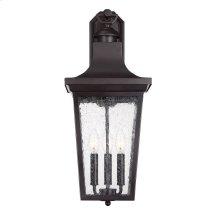 """Randolph 3 Light 23"""" Exterior Wall Lantern"""