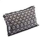 Triangles Pillow Black & White Product Image