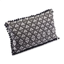 Triangles Pillow Black & White