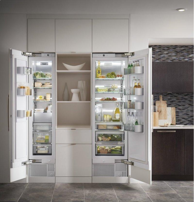 Hidden Additional Monogram 24 Integrated Column Refrigerator